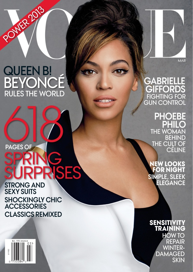 American Vogue March 2013 Cover