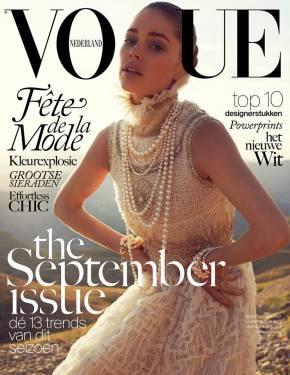 Vogue Netherlands September 2013 Cover