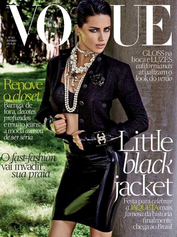 Vogue Brasil October 2012 Cover